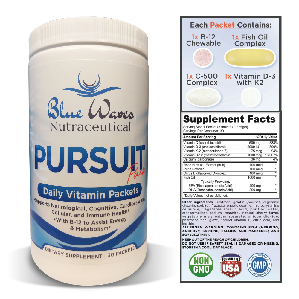Pursuit Pack | 30 Daily Vitamin Packets