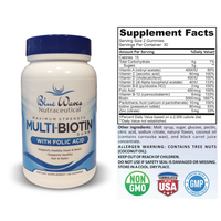 Multi-Biotin with Folate | 60 Gummies