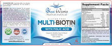 Load image into Gallery viewer, Multi-Biotin w/ Folic Acid | 60 Gummies
