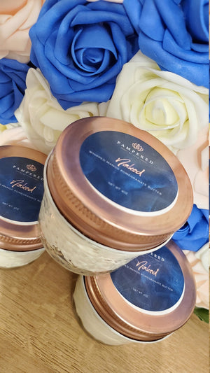 Unscented body butter made by Pampered by Peta from Peta Experience