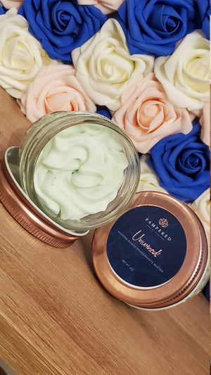 Unwined scented body butter made by Pampered by Peta from Peta Experience