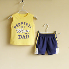 Baby Boy/Boy athletic wear set - Yellow