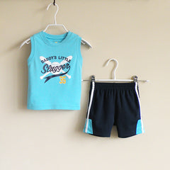 Baby Boy/Boy athletic wear set - Light Blue