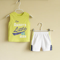 Baby Boy/Boy athletic wear set - Light Green
