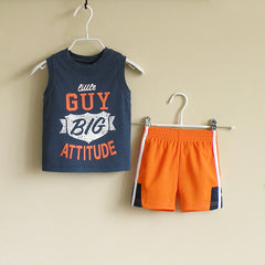 Baby Boy/Boy athletic wear set - Dark blue