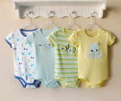 4-pack bodysuits gift set - Fish