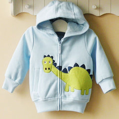 Baby boy/Boy's Hoodie with zipper - Dinosaurs