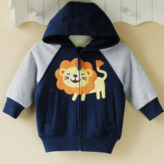 Baby boy/Boy's Hoodie with zipper - Lion