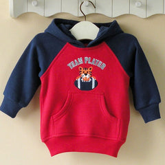 Boy's Hoodie with front pocket - Football