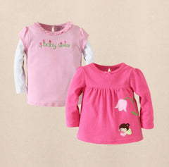 2pk long sleeves tee - Fairy girl