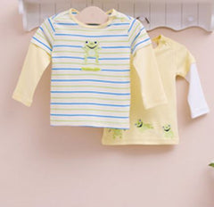 2-pack Baby Long-sleeves Tee - Frog