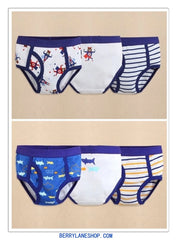 3-pack toddler boy briefs