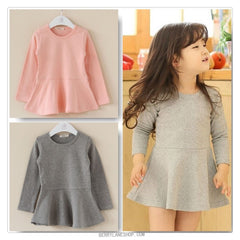 Children peplum top