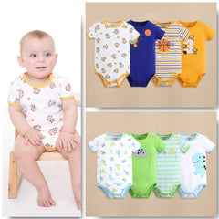 4-pack short-sleeve bodysuits gift set