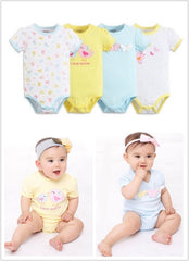 4-pack short-sleeve bodysuits gift set - Butterfly