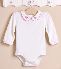 Baby girl long-sleeves bodysuit - Hearts