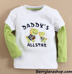 Boy long-sleeves tee - Daddy's all star