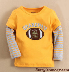 Boy long-sleeves tee - Grandpa's all star