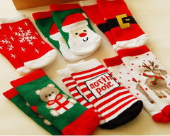 Children Christmas socks