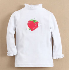 Sweet strawberries long-sleeves tee