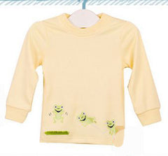 Boys long-sleeves tee - Green frog