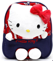 Kitty Backpack with Safety Harness - Blue