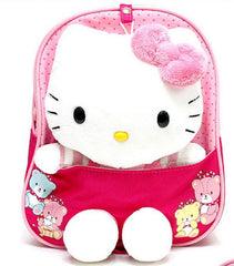 Kitty Backpack with Safety Harness - Pink