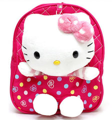 Kitty Backpack with Safety Harness - Hot Pink