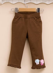 girl cotton pull up pants cupcake
