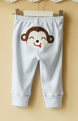 Baby pants with adjustable Lengths - Monkey