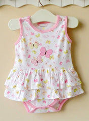 Baby girl dress romper - Butterfly