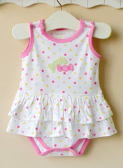 Baby girl dress romper -- Candy