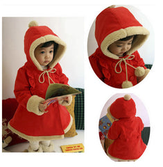 Girl Christmas Santa coat