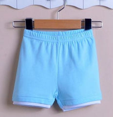 Boy pull-up shorts blue