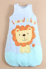Toddler quilted sleeping bag (age 3-6) - Lion