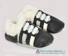 Baby boy soft sole leather shoes - Sport