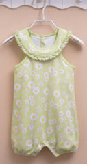 Baby girl floral sunsuit