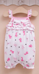 Baby girl doggy sunsuit