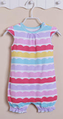 Baby girl multi-colour sunsuit
