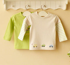 2-pack Baby Long-sleeves Tee - Green
