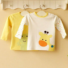 2-pack Baby Long-sleeves Tee - Yellow