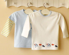 2-pack Baby Long-sleeves Tee - Blue