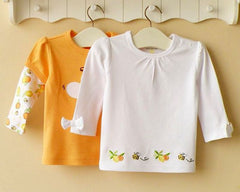 2-pack Baby Long-sleeves Tee - Orange