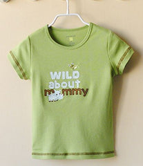 Short sleeve T-shirt - Rhino Wild about mommy