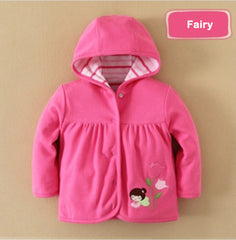 Girl reversible hoodie fairy girl