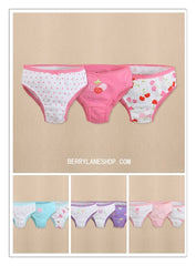 3-pack toddler girl panties