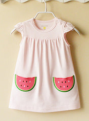 Pink watermelon dress