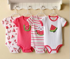 4-pack bodysuits gift set - Watermelon