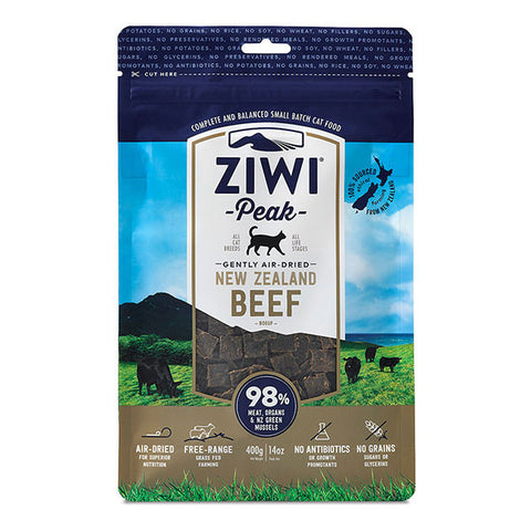Ziwi Peak - Daily Cat Air Dried Beef - 400g pouch