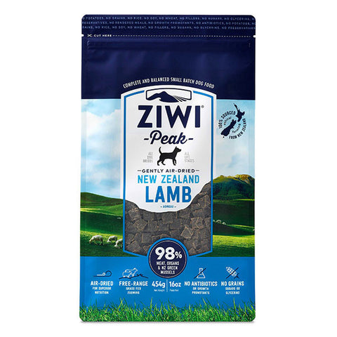 Ziwi Peak - Daily Dog Air Dried Lamb - 454g pouch